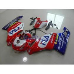 Ducati 749 999 2003-2004 Red Fila Fairing Kit
